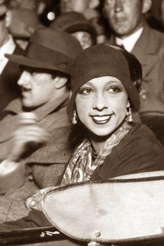 Viva la Josephine!  | 1930s  Josephine Baker (born Freda Josephine McDonald, St. Louis, MO, 1906) ddancer, singer, actress, and civil rights activist.