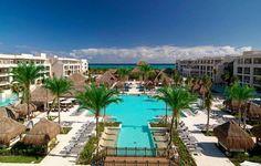 Paradisus Playa del Carmen - La Perla, an Alluring Resort on the Riviera Maya Top All Inclusive Resorts, Adult Only All Inclusive, Vacation Resorts, Vacation Places, Honeymoon Destinations, Hotels And Resorts, Dream Vacations, Best Hotels, Vacation Spots
