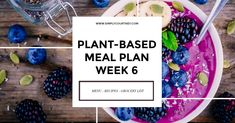 Another week of tried, tested and truly delicious plant-based recipes - with grocery list included!