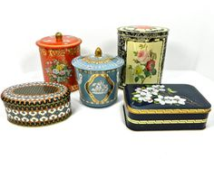 Vintage collection of tins England Western by 3SisterzJewelry, $40.00