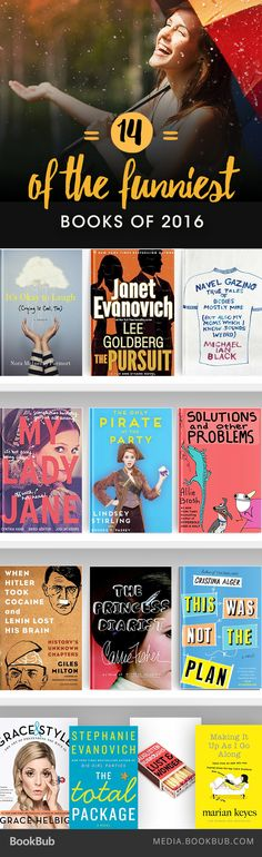 14 New Books That Will Make You Laugh Out Loud in 2016