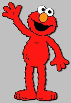 Elmo and other Sesame Street clip-art; could be used for invitations ...