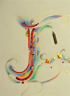 Calligraphy by Nancy Culmone