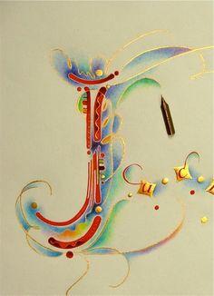 Calligraphy by Nancy Culmone
