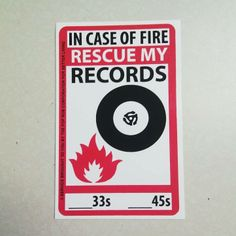In case of fire, rescue my records. Visit Vinyl Bay 777 Your Music Outlet for… House Music, Music Is Life, My Music, Techno Music, Music Songs, Vinyl Music, Vinyl Records, Au Hasard Balthazar, Vinyl Junkies