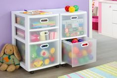 Simple+and+Inexpensive; find the right size drawers--figure out what toys are the issue: so far books, Legos, and clothes/costumes
