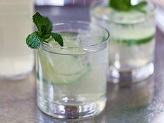 Get Make-Ahead Cucumber-Elderflower Sangria Recipe from Food Network