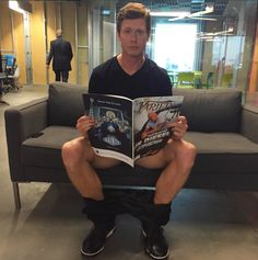 Anders Holm stopped by yesterday to catch up on Vin Diesel news.