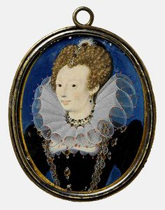 Probably Penelope Devereux, daughter of Lettice Knollys, great-granddaughter of Mary Boleyn