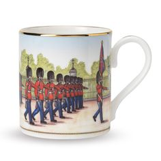Buy Halcyon Days Changing The Guard Mug | Amara