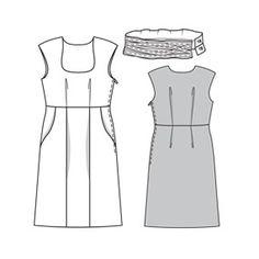 Heidi Dress #6016