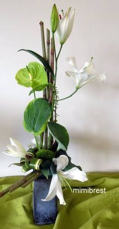 Ikebana, Floral Centerpieces, Floral Arrangements, Art Floral, Floral Design, Fleur Design, Altars, Flower Decorations, Flower Designs