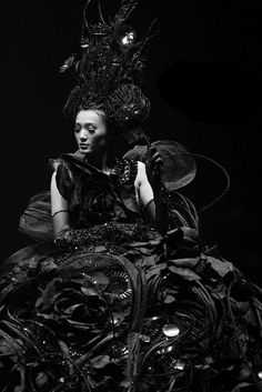 foliage noir - guo pei Queen of Something, Somewhere Beautiful