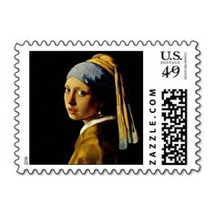 The Girl with a Turban/Girl with the Pearl Earring Postage Stamps This site is will advise you where to buyShopping          The Girl with a Turban/Girl with the Pearl Earring Postage Stamps Here a great deal...