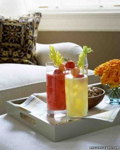 Fresh Yellow-Tomato Bloody Mary