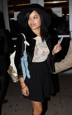 Zoe Kravitz - ahhh! She played Christina in 'Divergent'