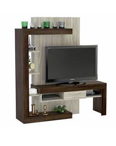 Me gustó este producto Mica Rack 55 Tv Unit Furniture, Living Room Tv, Tv Stand Designs, Living Room Tv Unit Designs, Tv Wall Decor, Furniture, Interior, Tv Room, Tv Room Design