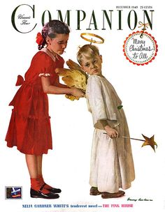 norman rockwell christmas. the most wonderful time of the year is almost here!