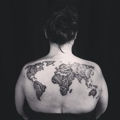 Self employed for almost 20 years artist luke wessman portrait world map tattoo by luke wessman ny soho henna tattoo inspired pointillism tattoo gumiabroncs Image collections