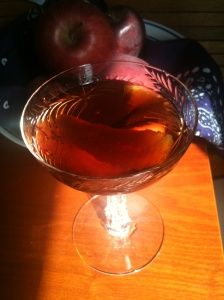 Angel's Share Cocktail (from Imbibing Mr. Boston) a Manhattan variation