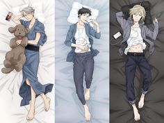"2,339 Me gusta, 33 comentarios - yuri on ice~! ♡ (@yurionice) en Instagram: ""body pillows """