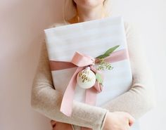 pastel wrapping....