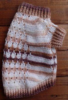 Beige Dog Sweater Crochet Dog Sweater Handmade Dog Sweater Vestidos Para  Perros c3ae5d7263d