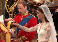 Prins William en zijn vrouw