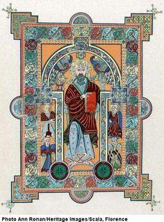 Book of Kells > Celtic art