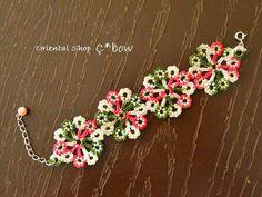 oya crochet bracelet