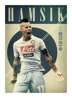 #HAMSIK @UEFAcom @mary v Real Premier UEFA CHAMPIONS LEAGUE: 15 TO WATCH by Andy Greaves, via Behance