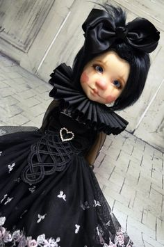 """""""Minuet"""" ooak outfit for Bea, Gertie,  Kaitie MSD BJD Kaye Wiggs by Tracy P"""