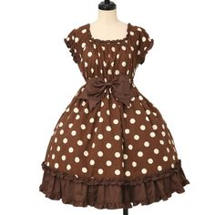 ♡ Heart E ♡ Dot dress http://www.wunderwelt.jp/products/detail12274.html ☆ ·.. · ° ☆ How to order ☆ ·.. · ° ☆ http://www.wunderwelt.jp/user_data/shoppingguide-eng ☆ ·.. · ☆ Japanese Vintage Lolita clothing shop Wunderwelt ☆ ·.. · ☆