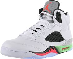 Nike - Air Jordan 5 Retro BG white/infrared/green