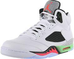 Nike Mens Air Jordan Retro 5 Space Jam Basketball Shoes White/Poison Green/Black/Infrared 136027-115 Size 10.5 Nike http://www.amazon.com/dp/B00Y1FP99C/ref=cm_sw_r_pi_dp_dfALvb02APK8V