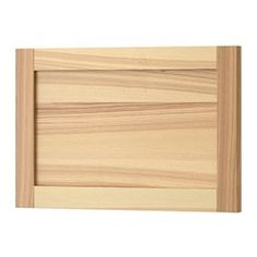 IKEA TORHAMN door Ash veneer is stain resistant and easy to keep clean.