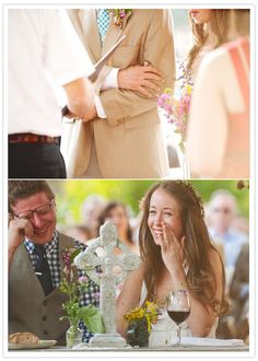 crafty-southern-wedding-6   tears of joy, setting aside special moments in your ceremony...