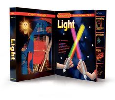Gift Guide, Ages 6 to 9: This kit offers 40 pages' worth of explorations with light, lenses, reflection, refraction, microscopes and more. #holiday #gifts