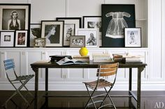 Family Photo Display Ideas Photos | Architectural Digest