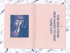 """New York"" is a short design book using bad photographs that were taken on a trip to NYC on October 22, 2011."