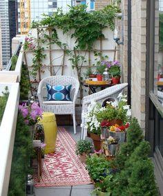Mi balcón jardín