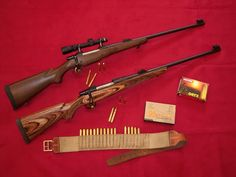 Ammo and Gun Collector: CZ 550 Magnum Safari Rifles