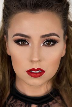 32 Best Red dress makeup images in 2019 | Beauty makeup, Gorgeous ...