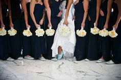 The Fontainebleau | Photography: Alain Martinez | #CarrieZack #weddings…