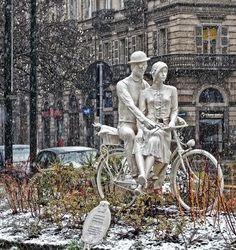 Giardini La Marmora #snow #torino