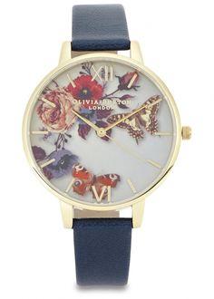Winter Garden gold plated watch - Women I need this watch!