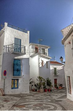 Frigiliana Spain (Andalucia)  Known for it's streets mosaics