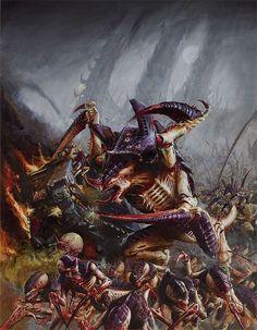 Starcraft, Warhammer and Starship Troopers Starship Troopers, Warhammer Art, Warhammer 40000, Goblin, Ben Oliver, Warhammer 40k Tyranids, Alien Creatures, Creature Concept, Art