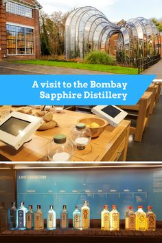 The Bombay Sapphire Distillery is located inside Laverstoke Mill, close to Basingstoke and Winchester, UK