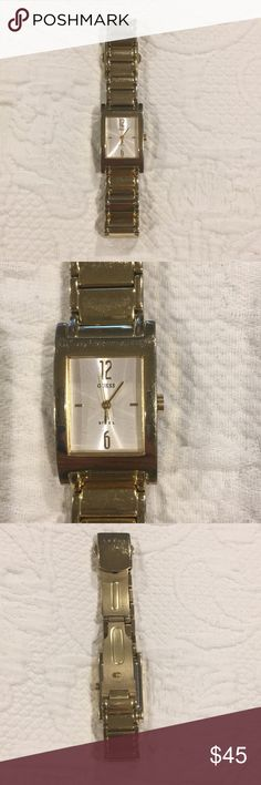 Guess watch Stainless steel Guess watch. Works great, just needs a new battery. Guess Accessories Watches